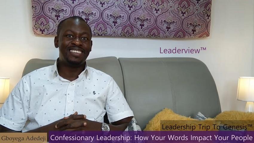 CONFESSIONARY Leadership