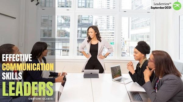 Effective Communication Skills for Leaders