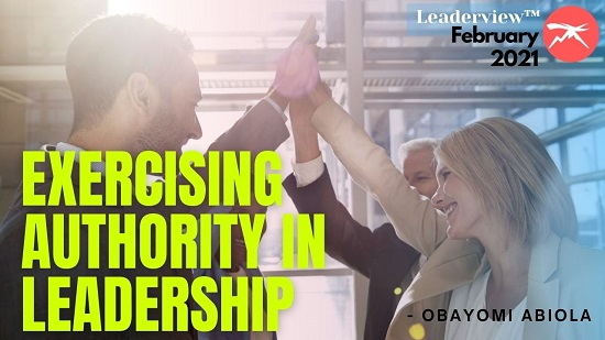 Exercising Authority in Leadership