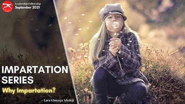 Impartation Series Pt. 2