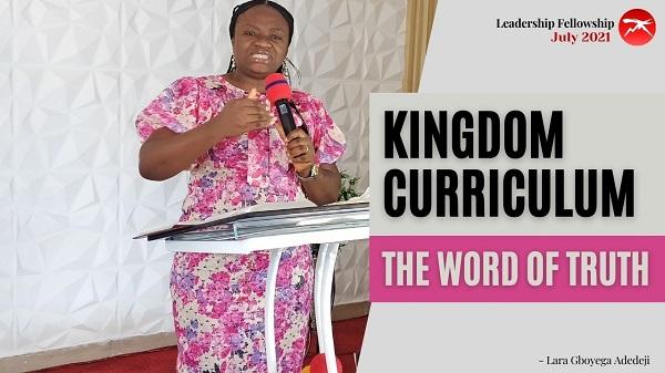 Kingdom Curriculum Part Five