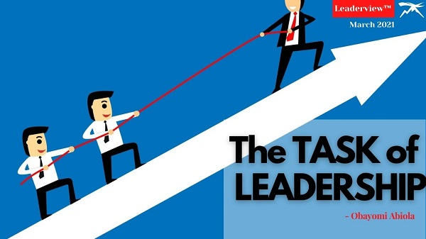 The Task of Leadership Part 1