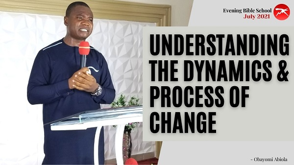 Understanding The Dynamics and Process of Change