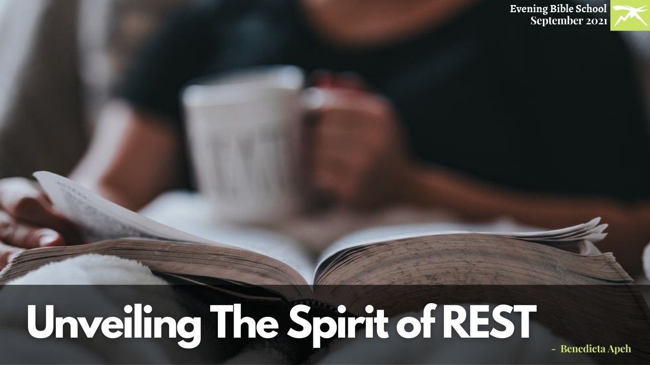 UNVEILING THE SPIRIT OF REST