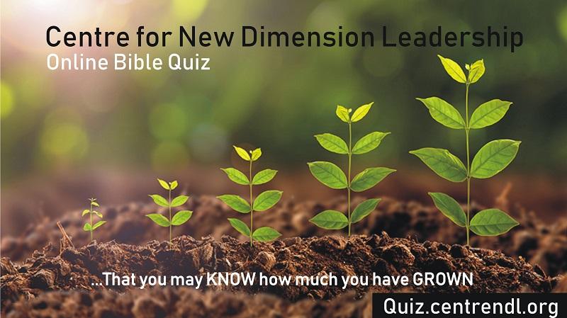 CentreNDL Online Bible Quiz