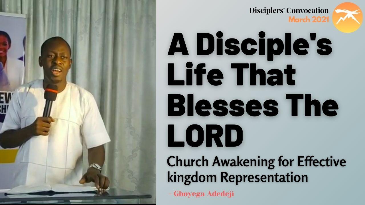 A Disciple