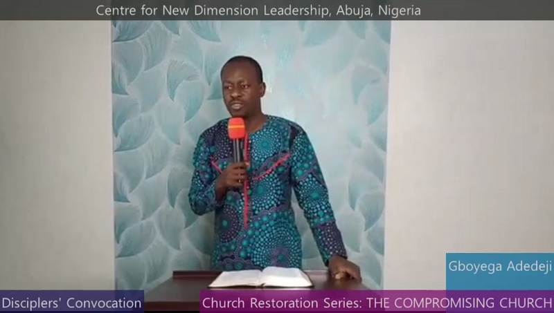 Church Restoration Series: THE COMPROMISING CHURCH