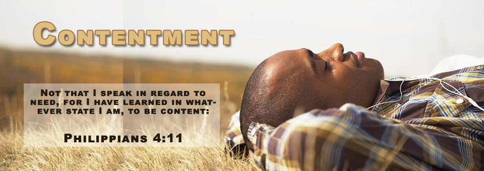 Grace for CONTENTMENT In Ministry