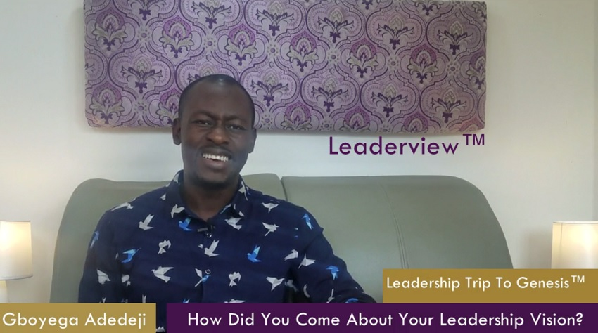 How Did You Come About Your Leadership Vision? Created or Captured?