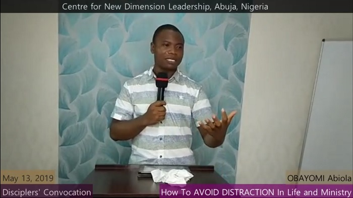 How To Avoid Distraction In Life and Ministry