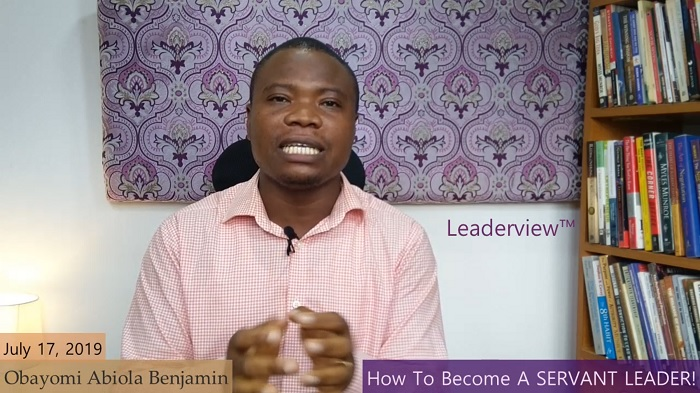 How To Become A Servant Leader
