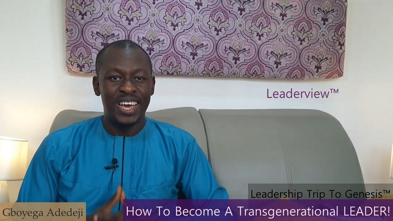 How To Become A Transgenerational Leader
