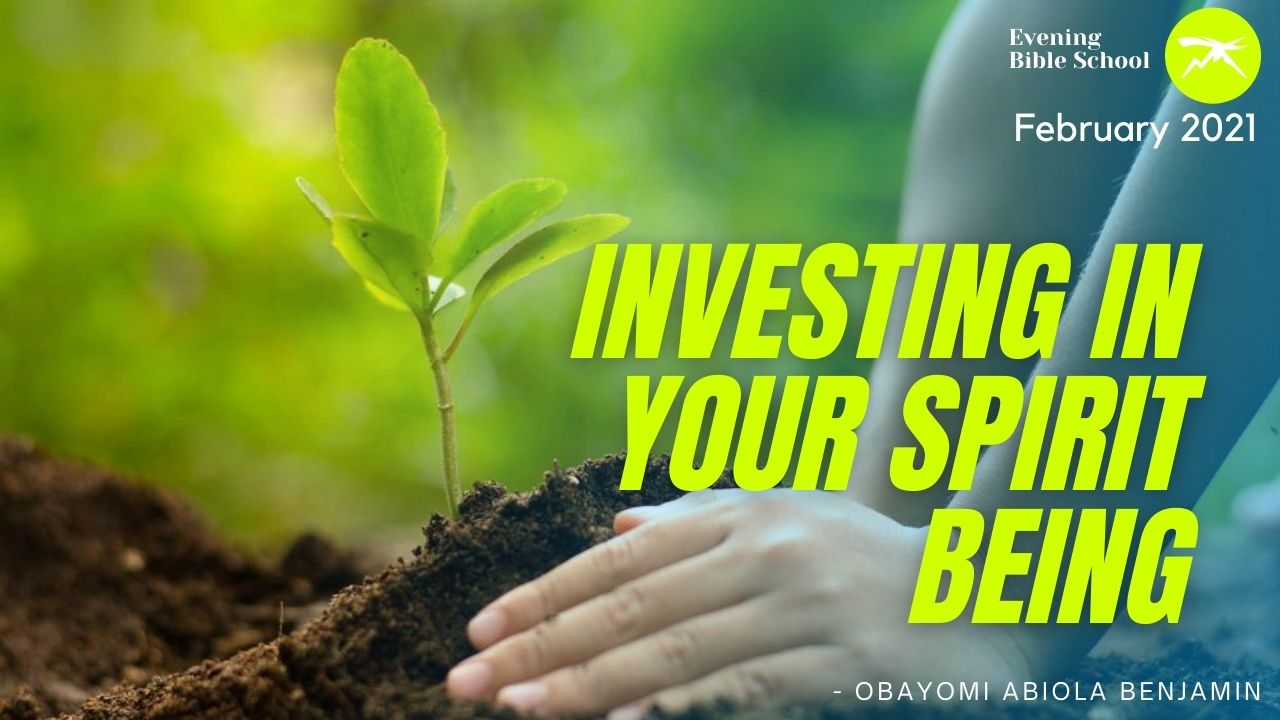 Investing In Your Spirit Being
