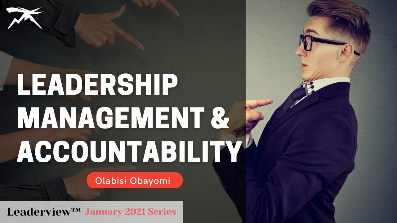 Leadership Management And Accountability