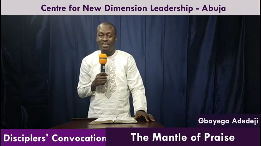 The Mantle of Praise: Understanding What Anointing Is Meant For
