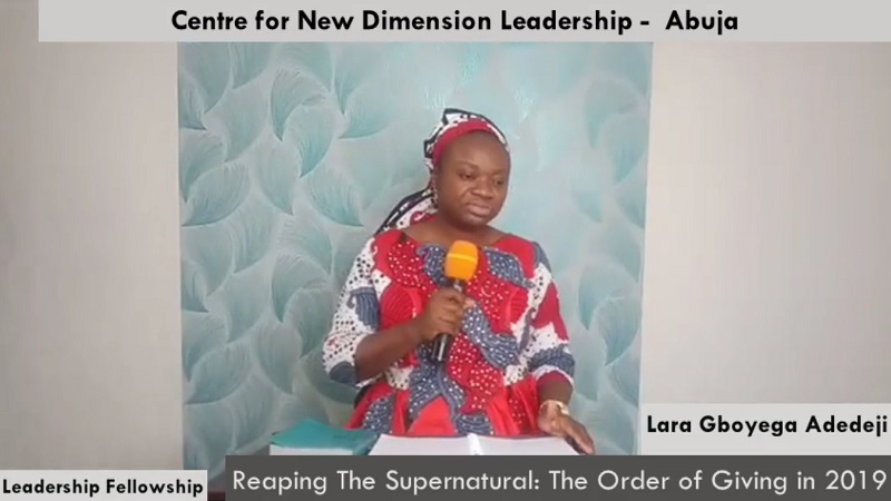 Reaping The Supernatural: The Order of Giving in 2019
