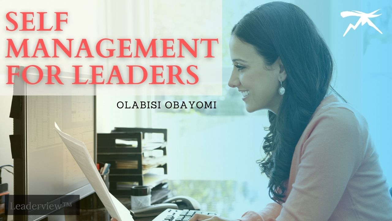 Self-Management for Leaders