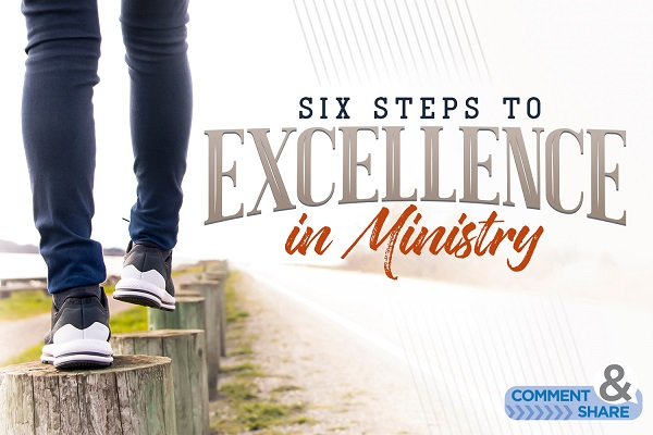 The 6 Areas of Ministerial Excellence