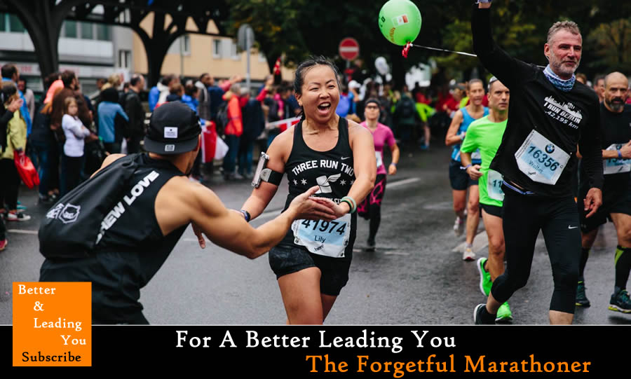 The Forgetful Marathoner | For A Better Leading You