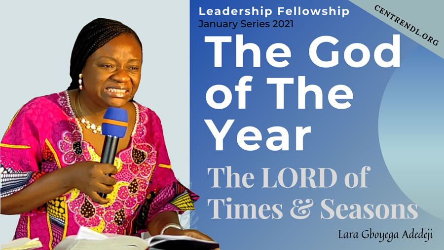 The God of The Year - The LORD of Times & Seasons!