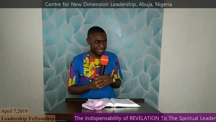 The Indispensability of Revelation To The Spiritual Leader