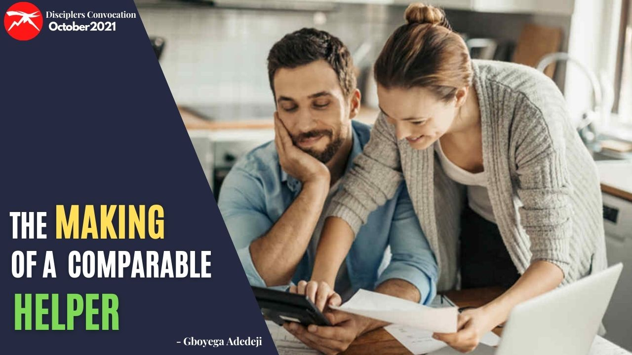 The Making of A Comparable HELPER In Marriage