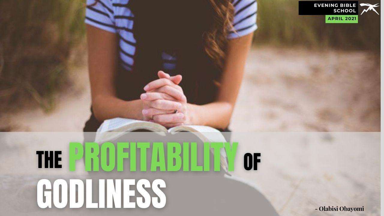 The Profitability of Godliness