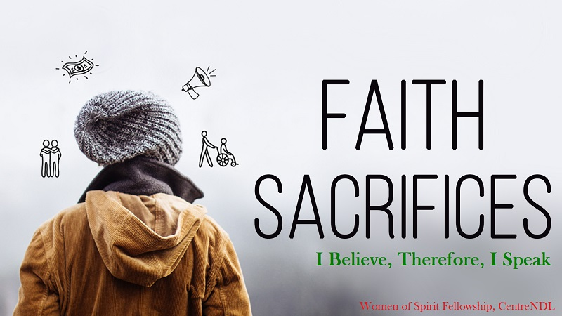 The Sacrifice of Faith