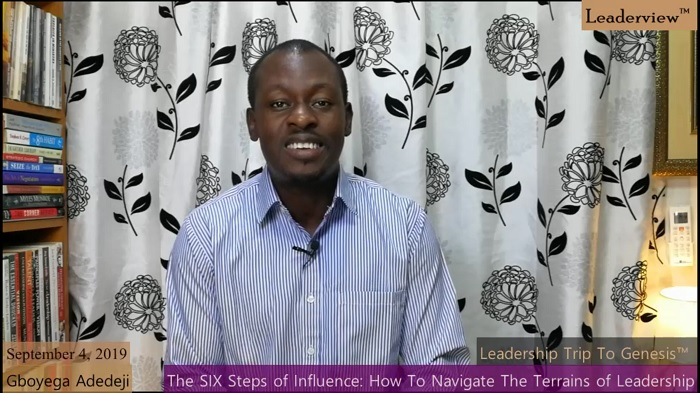 The SIX Steps of INFLUENCE - How To NAVIGATE The Terrains of LEADERSHIP