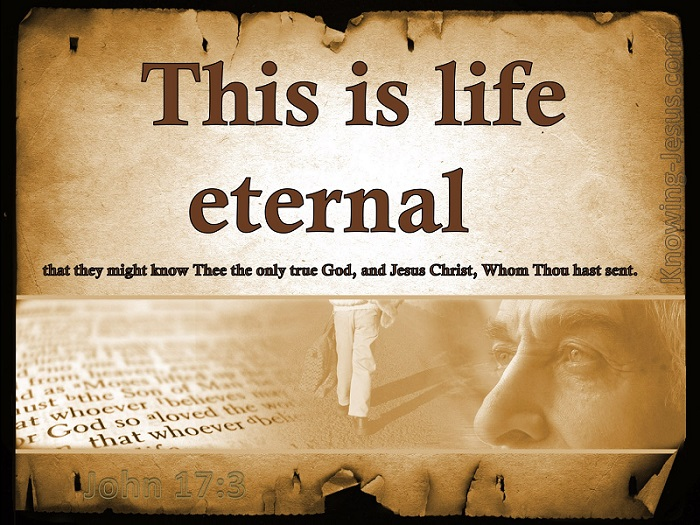 Unveiling The MYSTERY of ETERNAL Life