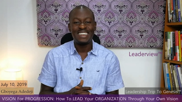 Vision for Progression: How To Lead Your Organization Through Your Own Vision