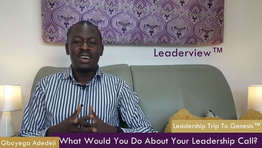 What Would You Do About Your Leadership Call?