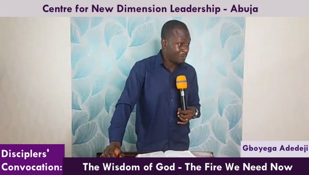 The Wisdom of God - The Fire Every Man Needs Now